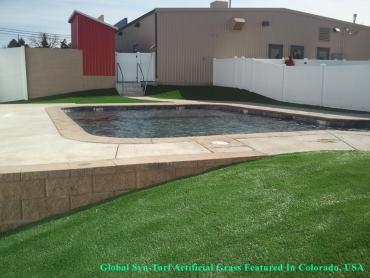 Artificial Grass Installation Elmendorf, Texas Lawn And Garden, Above Ground Swimming Pool artificial grass