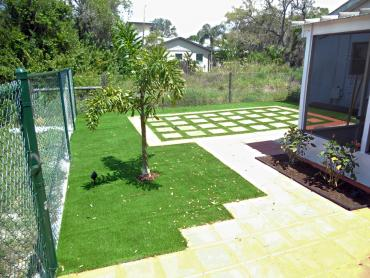 Artificial Grass Photos: Fake Grass Kingsbury, Texas Backyard Deck Ideas, Backyard Landscape Ideas