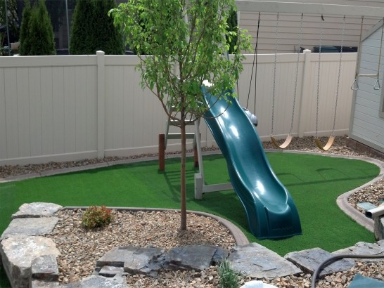 Faux Grass Lampasas, Texas Playground, Backyard Landscaping artificial grass