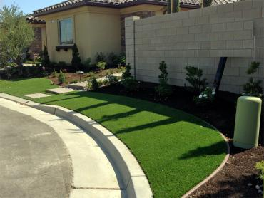 Artificial Grass Photos: How To Install Artificial Grass Fulshear, Texas Landscape Ideas, Front Yard Design