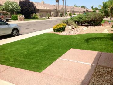 Artificial Grass Photos: Synthetic Grass Cost Van Vleck, Texas Lawn And Landscape, Front Yard Landscaping