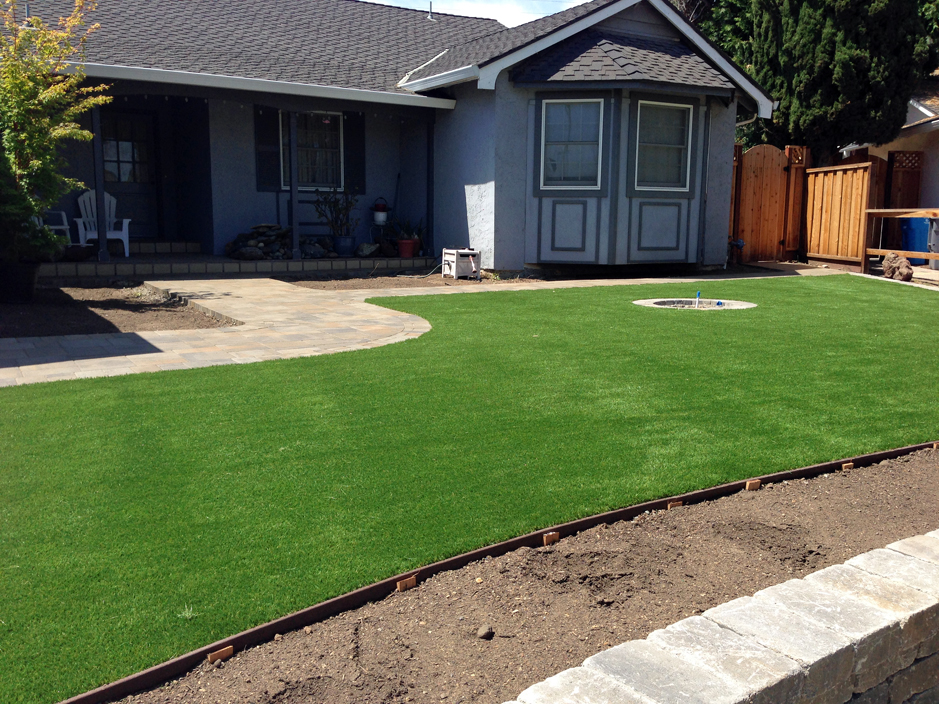 Synthetic Grass Cost Waelder Texas Landscape Design Front Yard