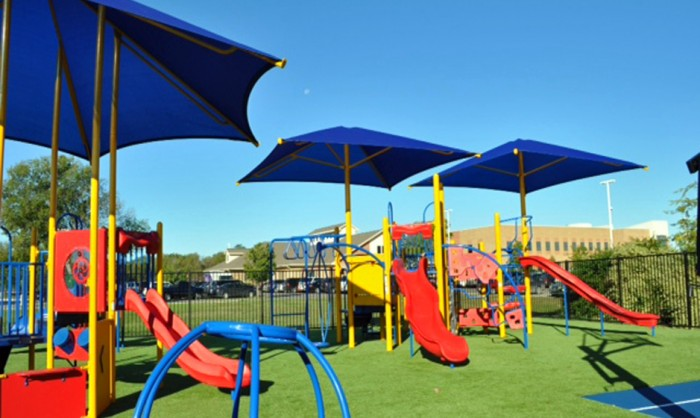 Artificial Grass for Playgrounds in San Antonio, Texas