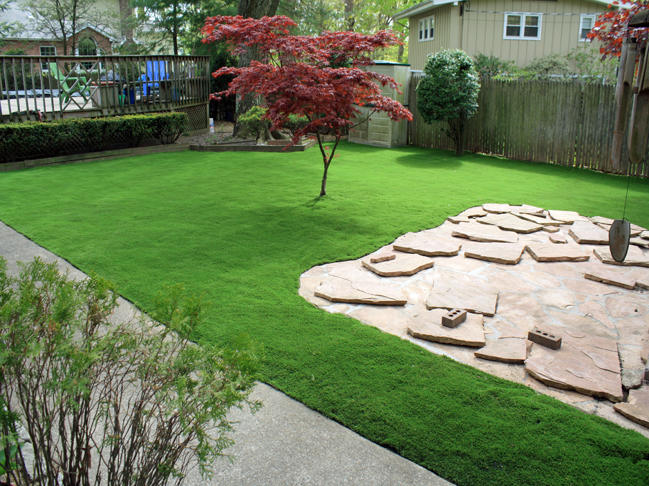 Artificial Grass Installation Vanderbilt, Texas Lawn And ... on Artificial Turf Backyard Ideas id=53991