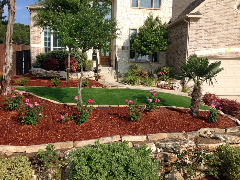Artificial Turf Cost Comfort Texas Backyard Playground Front Yard Landscaping Ideas